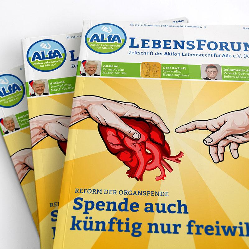 ALfA Magazin Lebensforum Aktuell